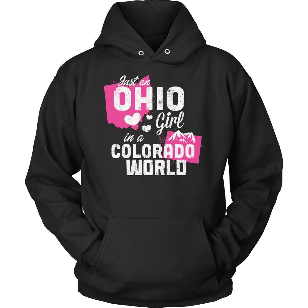 Ohio T-Shirt Design - Ohio Girl Colorado World