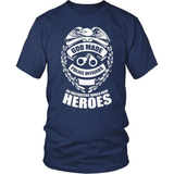 Police T-Shirt Design - Police Heroes