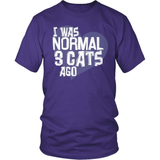 Cat T-Shirt Design - I Was Normal!