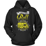 School Bus Driver T-Shirt Design - School Bus Roll