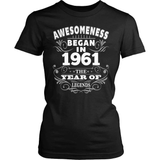Birthday T-Shirt Design - Awesomeness - 1961