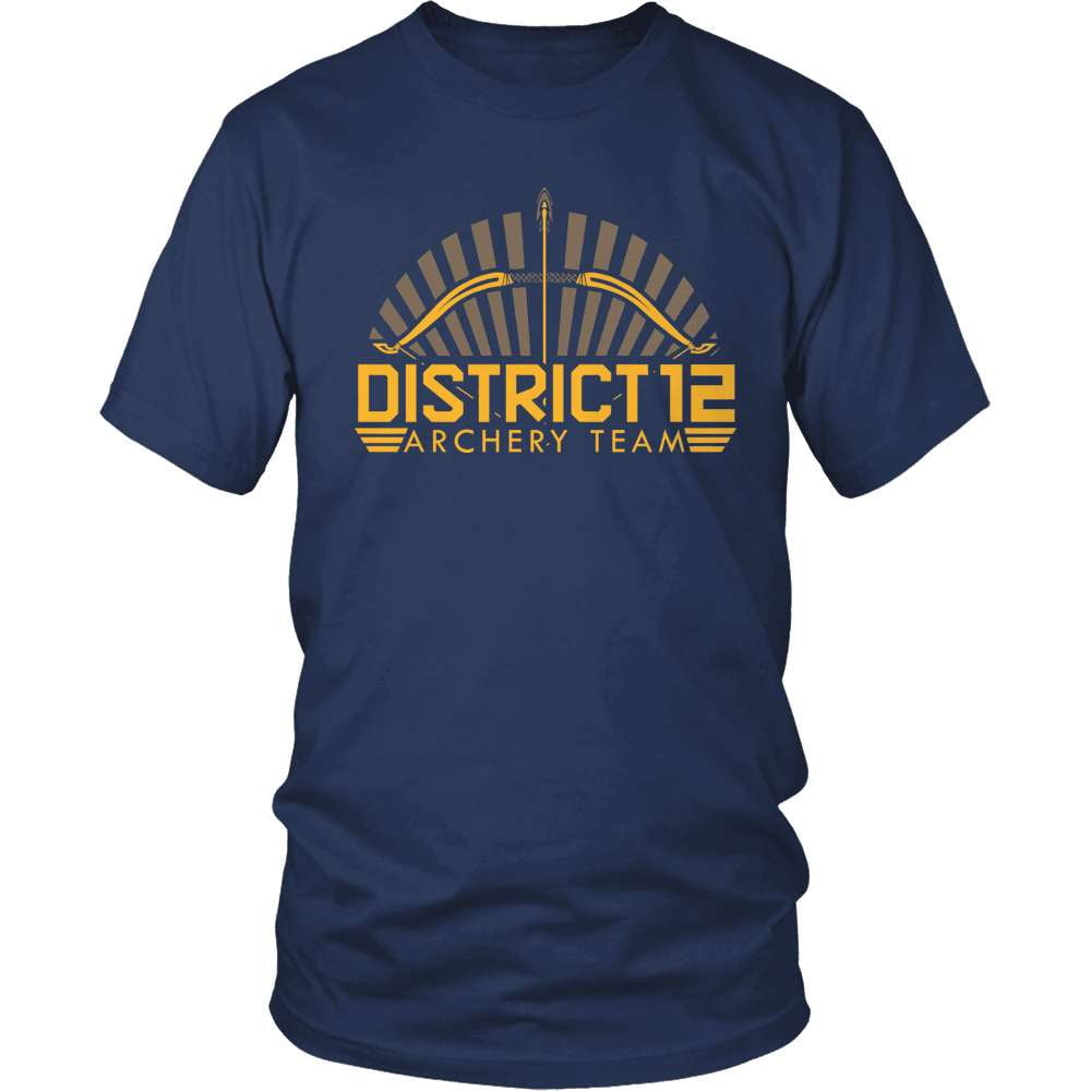 Archery T-Shirt Design - District 12 Team