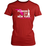 Florida T-Shirt Design - Florida Girl NY State Of Mind