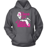 Illinois T-Shirt Design - Illinois Girl In Florida World