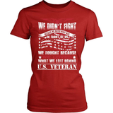 Veteran T-Shirt Design - Why We Fought
