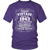Birthday T-Shirt - Premium - 1943