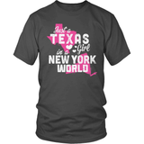 Texas T-Shirt Design - Texas Girl New York World