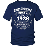 Birthday T-Shirt Design - Awesomeness - 1928