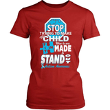Autism T-Shirt Design - Standing Out
