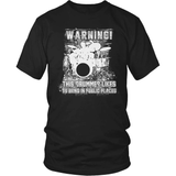Drummer T-Shirt Design - Banging In Public