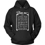 Grandparent T-Shirt Design - Glamorous Grandma