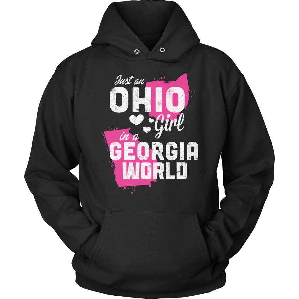 Ohio T-Shirt Design - Ohio Girl Georgia World - snazzyshirtz.com