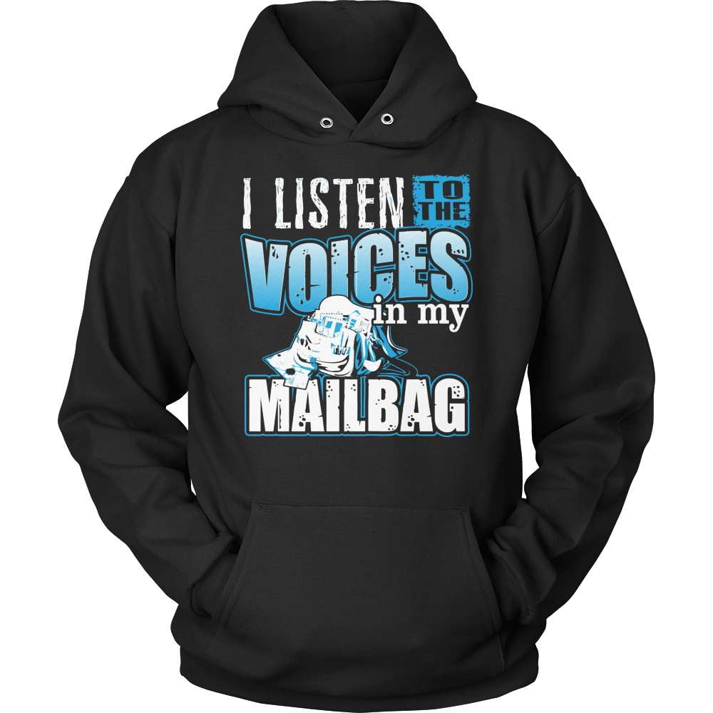 Mail Carrier T-Shirt Design - Voices In My Mailbag! - snazzyshirtz.com