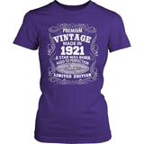 Birthday T-Shirt - Premium - 1921