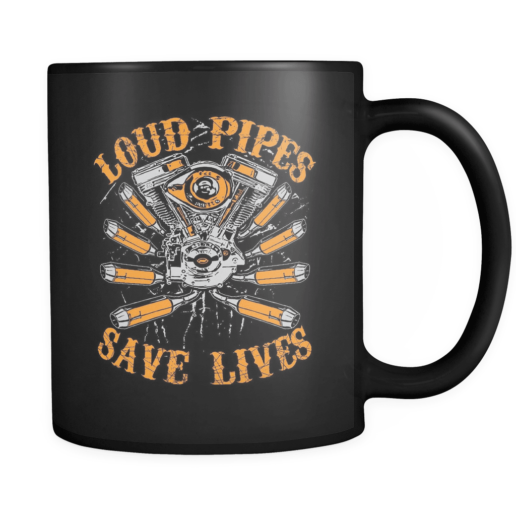 Loud Pipes Save Lives - Luxury Biker Mug