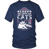 Cat T-Shirt Design - Sleep With Cats