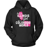 Illinois T-Shirt Design - Illinois Girl Colorado World