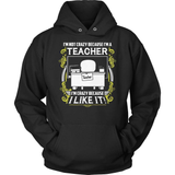 Teacher T-Shirt Design - Crazy Teacher