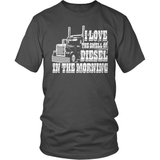 Trucker T-Shirt Design - Diesel In The Morning