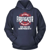 Firefighter T-Shirt Design - Been There Done That Fire