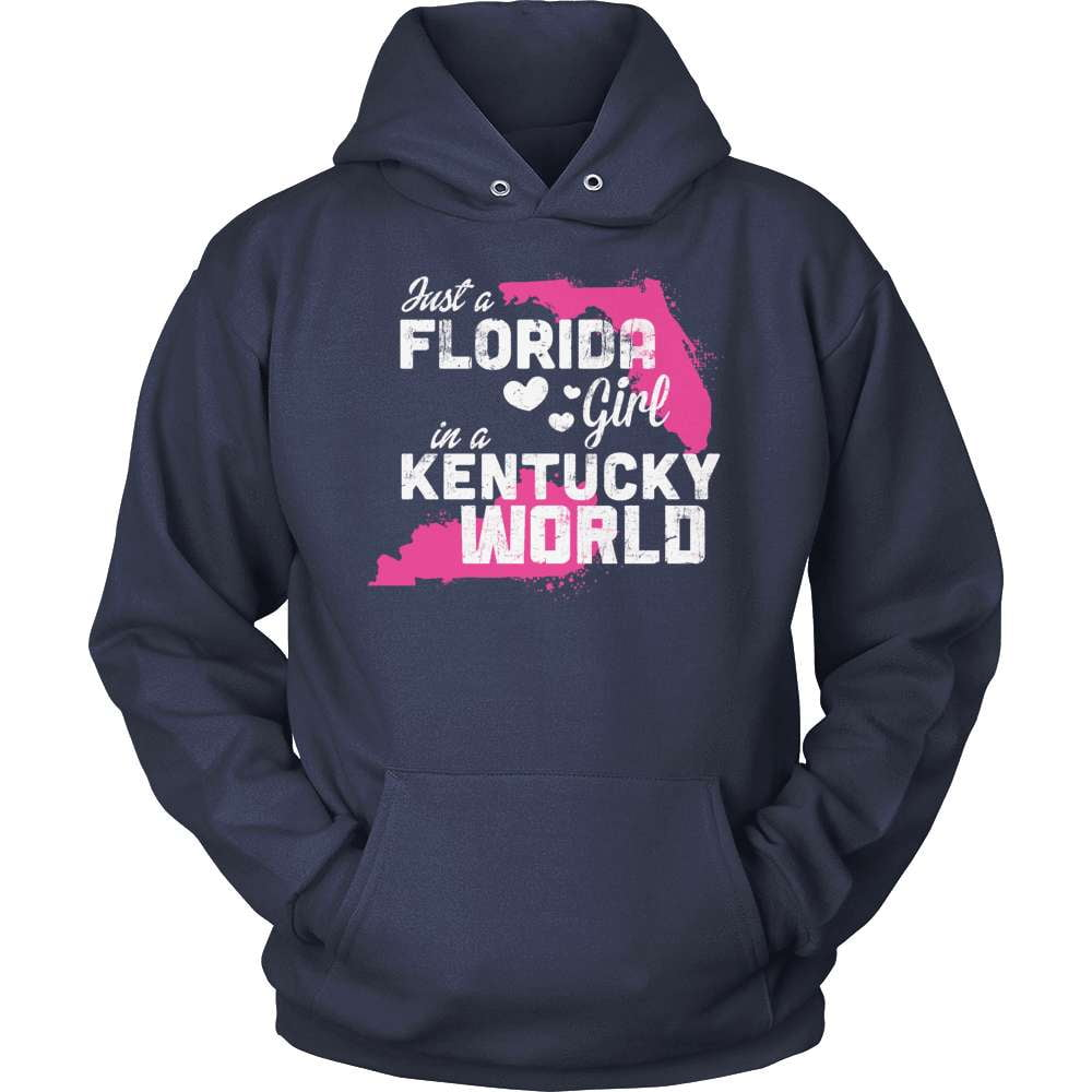 Florida T-Shirt Design - Florida Girl Kentucky World
