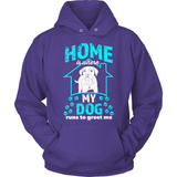 Dog T-Shirt Design - Home Is Where The Dog Is