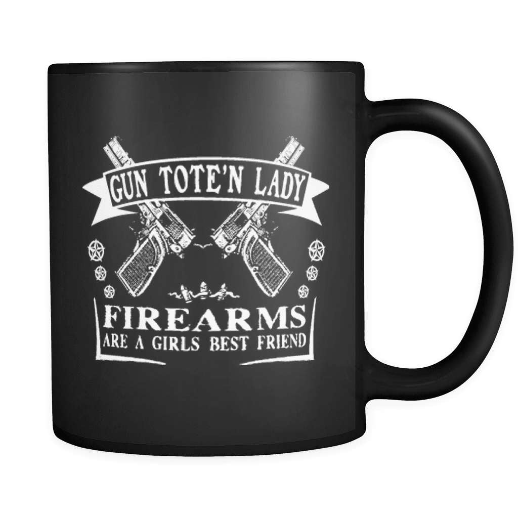 Firearms Are A Girl's Best Friend - Luxury Gun Mug