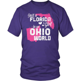 Florida T-Shirt Design - Florida Girl Ohio World
