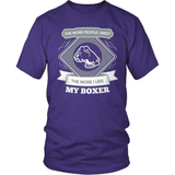 Boxer T-Shirt Design - My Boxer & You
