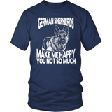 GSD T-Shirt Design - Make Me Happy