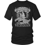 Veteran T-Shirt Design - Forever The Title
