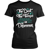 Drummer T-Shirt Design - I Am The Drummer!