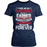 Mechanic T-Shirt Design - Ex Mechanic