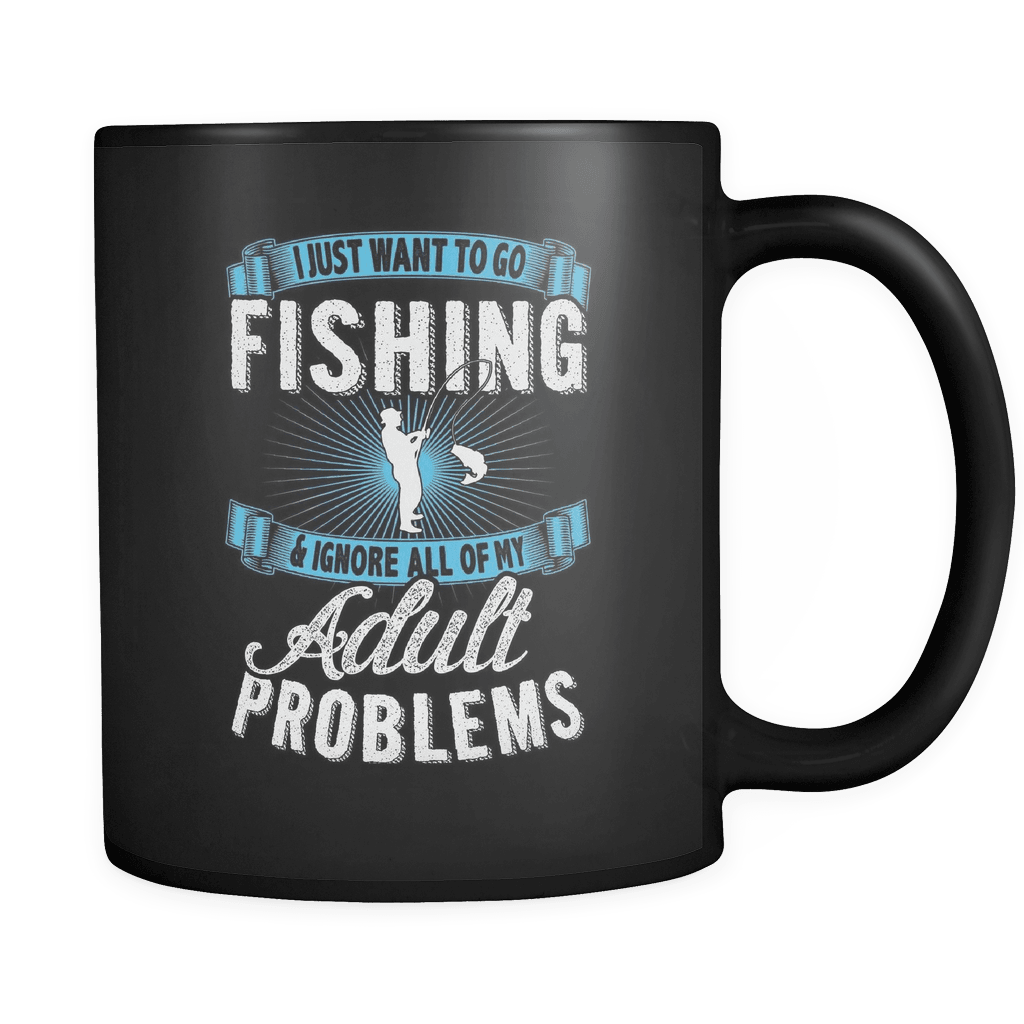 Go Fishing - Luxury Mug