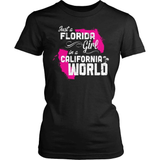 Florida T-Shirt Design - Florida Girl California World