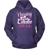 Nurse T-Shirt Design - Nursing Is My Cardio