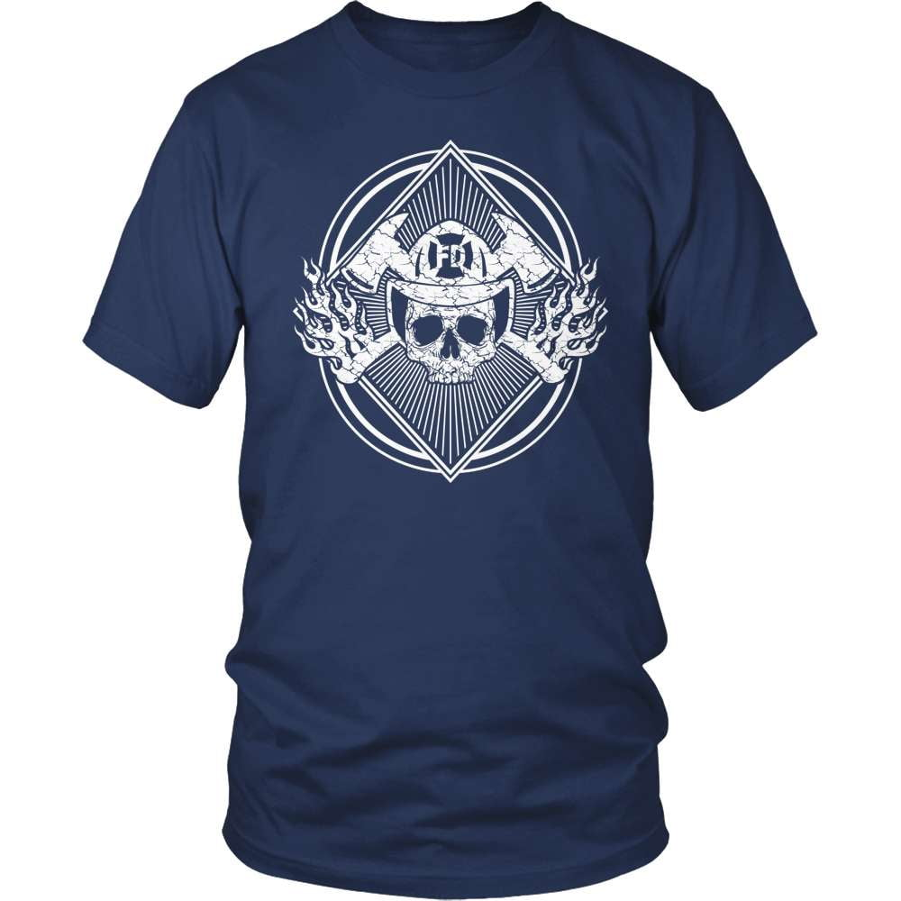 Firefighter T-Shirt Design - Fueled By Fire