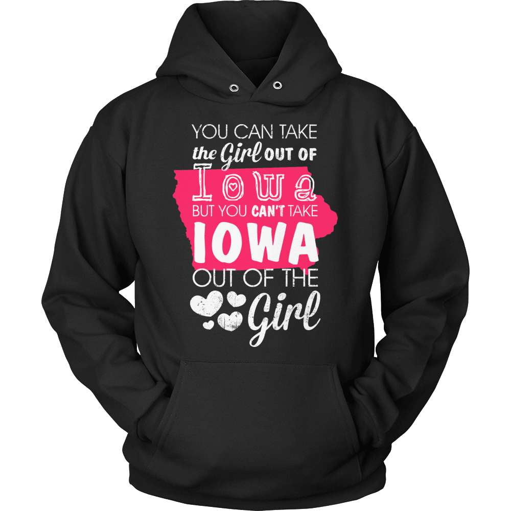 Iowa T-Shirt Design - Girl Out Of Iowa