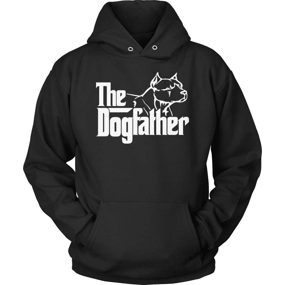 Pit Bull T-Shirt Design - The Pitfather - snazzyshirtz.com
