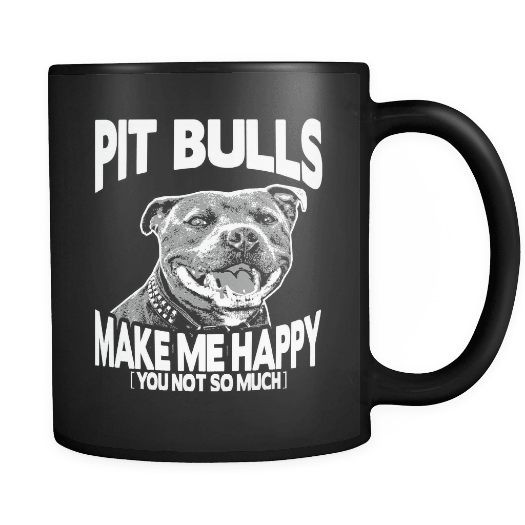 Make Me Happy - Luxury Pit Bull Mug