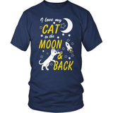 Cat T-Shirt Design - I Love My Cat This Much!