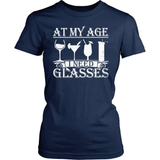 Grandparent T-Shirt Design - At My Age