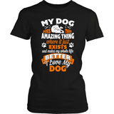 Dog T-Shirt Design - Amazing Dog