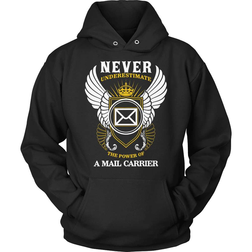 Mail Carrier T-Shirt Design - The Power Of A Mail Carrier - snazzyshirtz.com