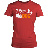 Dog T-Shirt Design - I Love My Dog