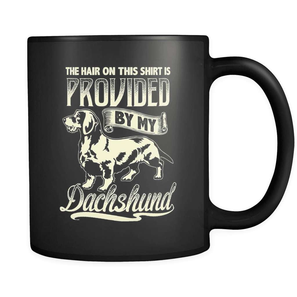 The Hair On My Shirt - Luxury Dachshund Mug