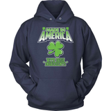 Irish T-Shirt Design - Made In America With Irish Ingredients!