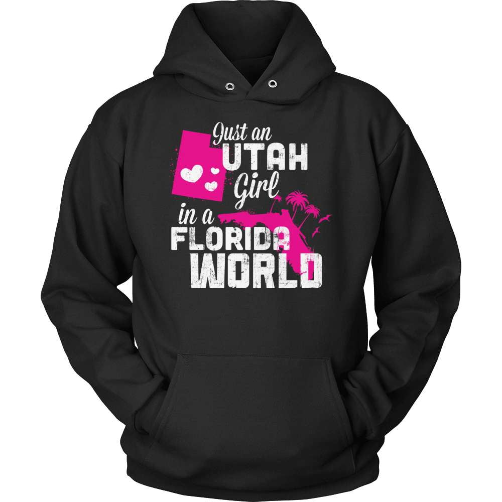 Utah T-Shirt Design - Utah Girl Florida World