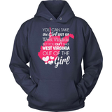 West Virginia T-Shirt Design - Girl Out Of West Virginia