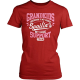 Grandparent T-Shirt Design - Grandma Support Team
